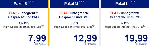 ALDI TALK Allnet Flat Prepaid Handytarif
