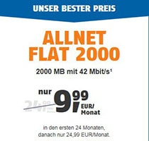 klarmobil allnet flat 2000