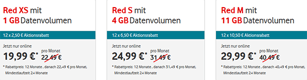 Vodafone Allnet Flat Handytarife