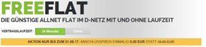 Anschlusspreisbefreiung bei allen Freenetmobile Handytarifen