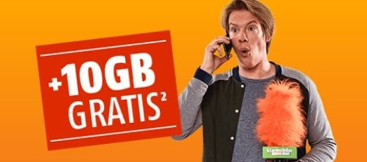 Photo of 10 GB Datenvolumen Extra auf alle klarmobil Allnet Flat Tarife