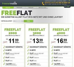 Welches Handynetz nutzt freenetmobile?