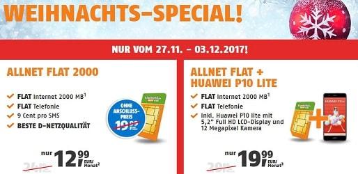 Photo of Weihnachts-Special: Klarmobil Allnet Flat 2000 mit D1-Netz nur 12,99 €