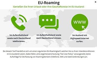 EU-Roaming bei Drillisch