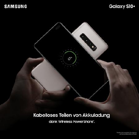 Akkuleistung: Samsung Galaxy S10+