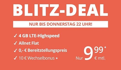 winSIM Blitz Deal Angebot