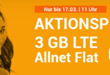Photo of winSIM LTE All 3 GB: Allnet-Flat (Min./SMS) + 3 GB LTE für nur 7,99 €