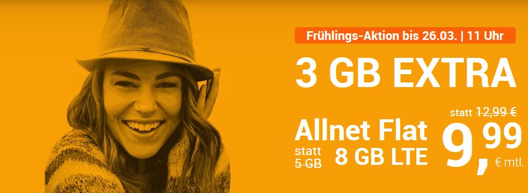 winSIM LTE All 5: Allnet Flat + 5 GB LTE Flat für nur 7,99 € – bis 07.4.