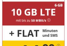 Photo of PremiumSIM LTE L: Allnet Flat + 10 GB LTE für nur 14,99 € (bis 12.05.)